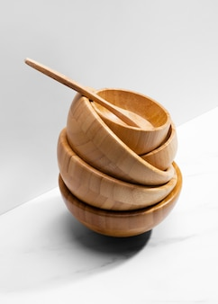 ハイアングル木製台所用品
