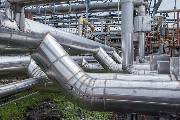 외피 절연 파이프 탄소강에 의한 오일 및 가스 수송을 위한 고압 흐름 파이프라인