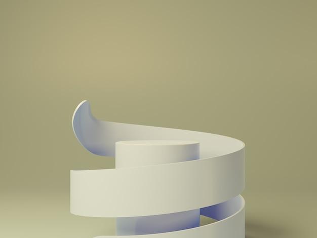 製品の高品質サークル表彰台デザイン