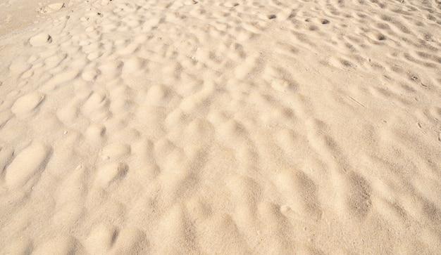 High quality detail of sand texture background top view. beautiful nature and travel background.