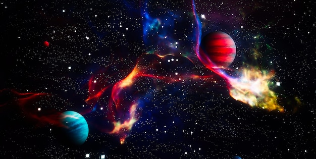 High quality space background.