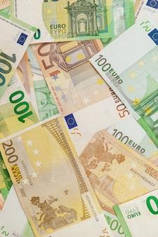 ユーロ紙幣の高品質な質感