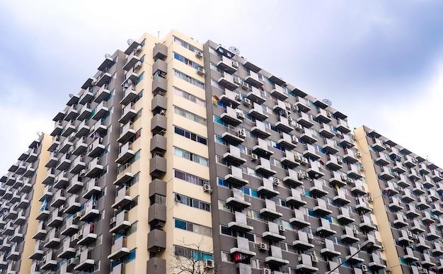 대도시에서 고층 빌딩
