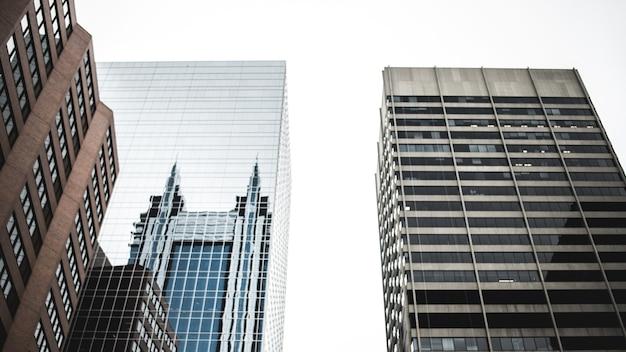 昼間の高層ビル