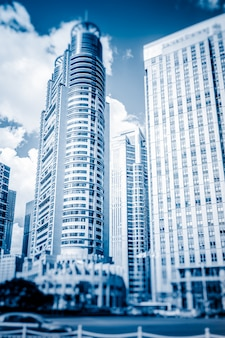 High-rise office buildings