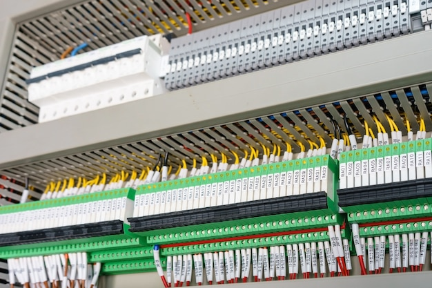 High technology industrial machine control by plc programing logical control