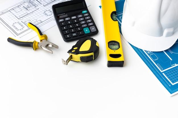 Мастерская строителей высокого разрешения и пространство для копирования