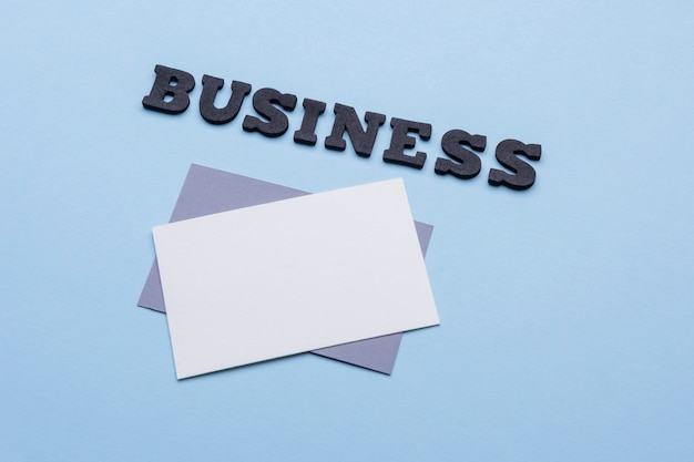 High view business corporate visiting cards