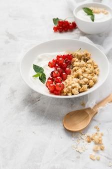 Концепция здорового питания высокий вид