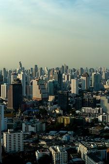 バンコク、タイの高いビュー