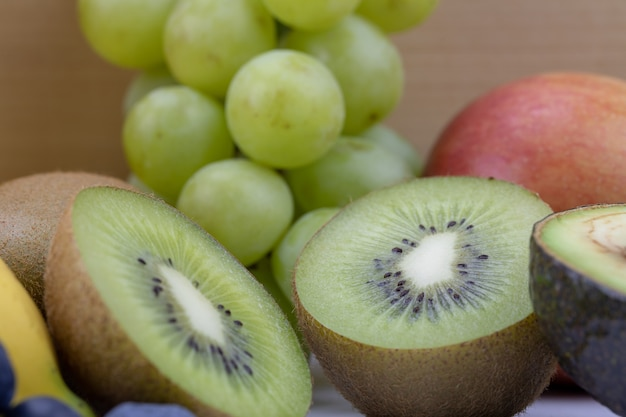 High vitamin c fruit concept