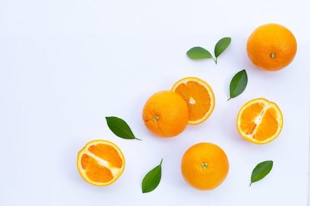 High vitamin c juicy and sweet fresh orange fruit