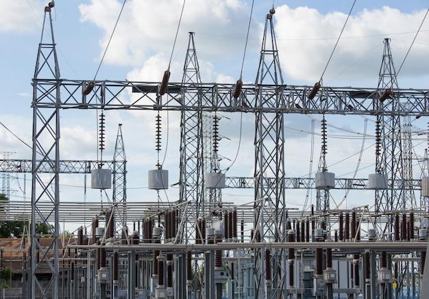 Высоковольтная электрическая подстанция
