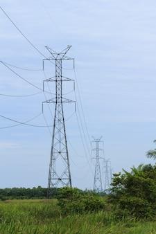 Линия электропередачи высокого напряжения