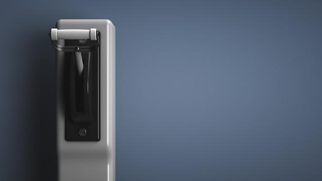 高電圧自動レバースイッチ。コピースペース