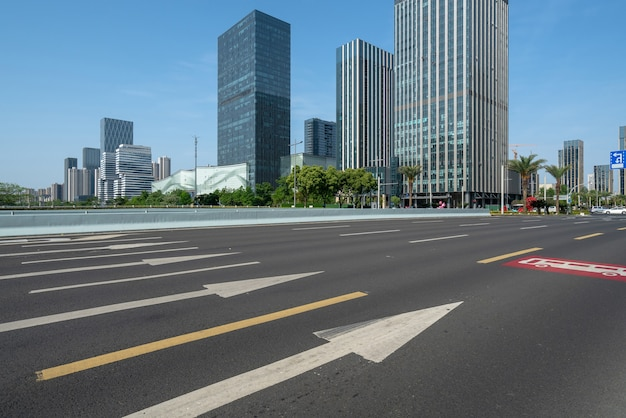 Highway and financial center office building in ningbo, china