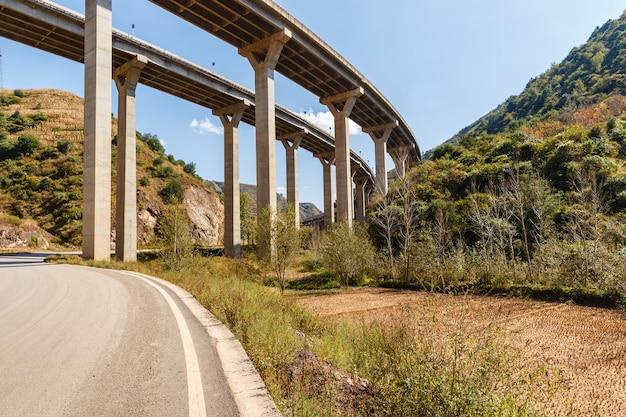 Highway overpass bridge, china