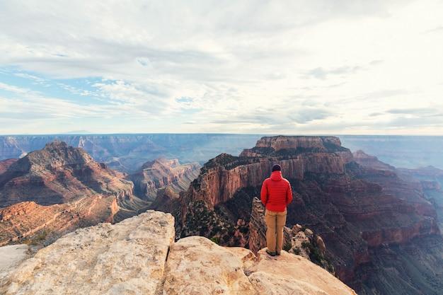 Поход в национальный парк гранд-каньон