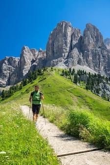 Dolomites에서 하이킹