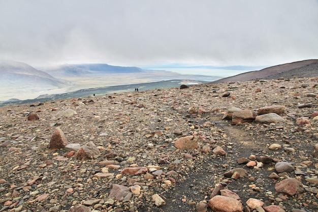 로스 빙하 국립 공원 하이킹 피츠 로이, 엘 찰텐, 파타고니아, 아르헨티나