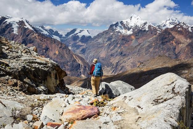 Походы в горах кордильеры, перу