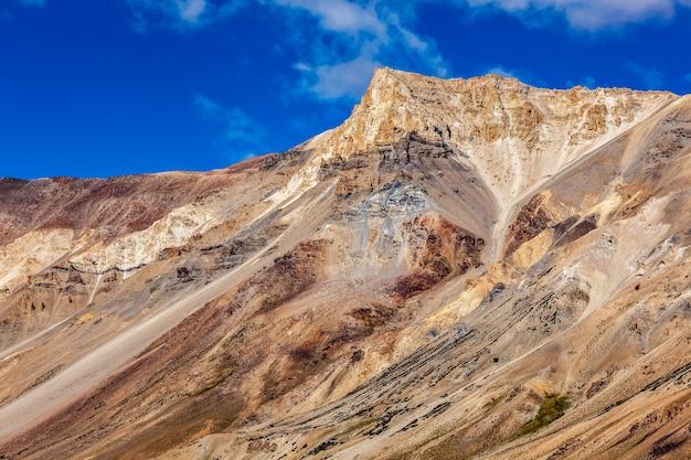 喜马拉雅山风景在喜马拉雅山
