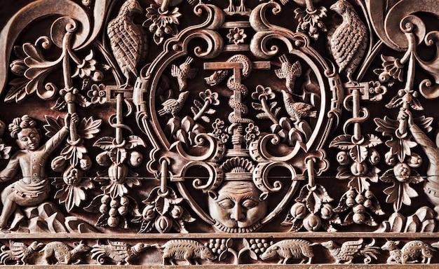 Hindu carving