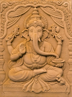 Hindu god ganesha lord of success