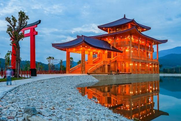 Hinoki castle