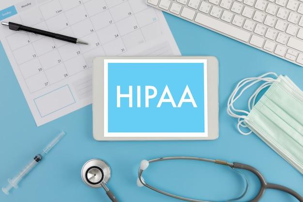 Hipaa профессиональные врачи используют компьютер и медицинское оборудование повсюду, правило конфиденциальности hipaa соблюдение hipaa