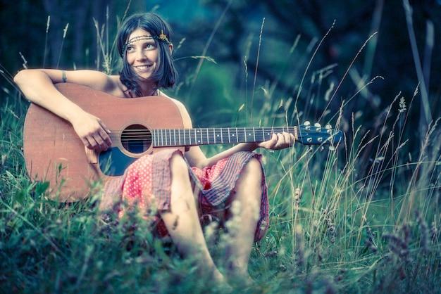 Hippy girl