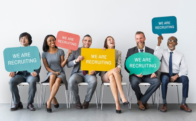 Концепция найма карьеры занятости человеческих ресурсов