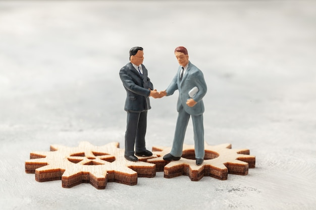 직원 채용 관리자의 리더 선택 비즈니스 프로세스에 맞게 사업가