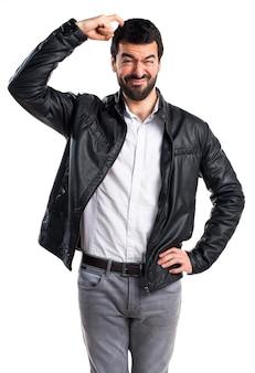Hispanic guy clean casual fashion