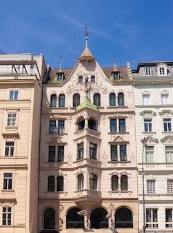 Historic building in vienna