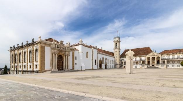 Исторический кампус университета коимбры, португалия