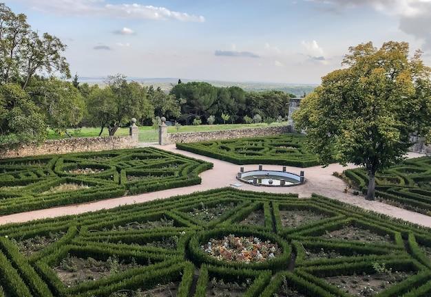 Historic gardens of san lorenzo de el escorial