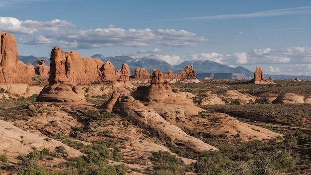 Historical arches national park in utah, usa