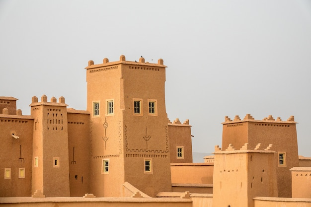 Historical buildings in morocco