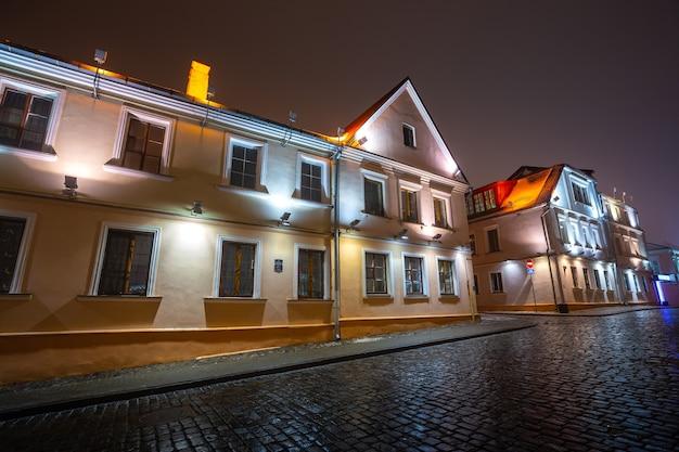 벨로루시 민스크의 역사적 중심지(treatskae 교외)
