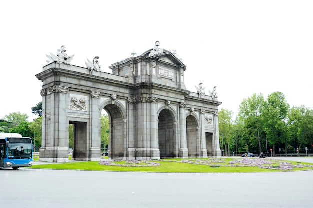Historical monument of madrid