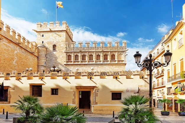 Historical place- silk exchange of valencia.spain .
