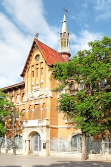 Historical places of valencia - la llotgeta (little exchange). valencia.