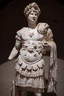 A historical statue from the roman period