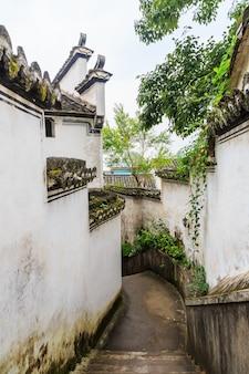 History tourism bridge town scenic asian