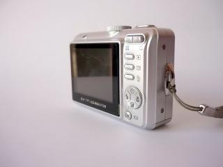 Hitachi digital camera, back