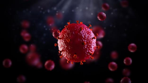 Hiv 또는 코로나 바이러스 covid-19 바이러스