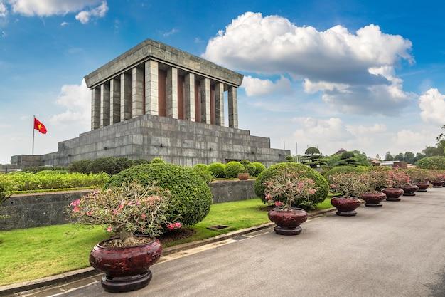 ベトナム、ハノイのホーチミン廟