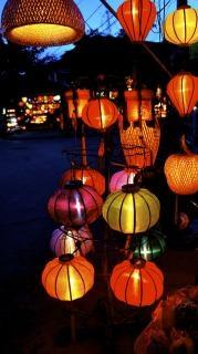 Hoi an lantern  old