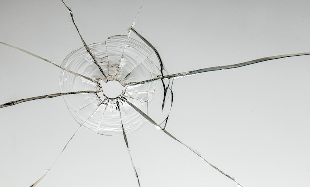 Hole from a ball